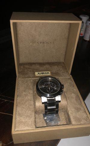 Mens black Burrberry watch (BU9354) for Sale in Woodbridge, VA