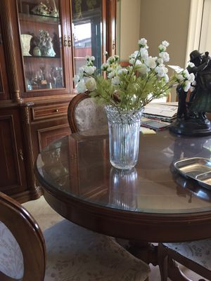 Wedding decorations: 6 crystal vases for Sale in Huntington Beach, CA