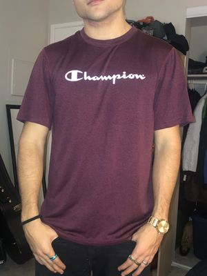 CHAMPION Burgundy Dryfit Sports Tee (M) for Sale in San Diego, CA