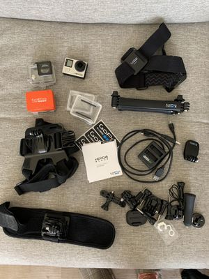 GoPro with TONS of Accessories for Sale in Los Angeles, CA