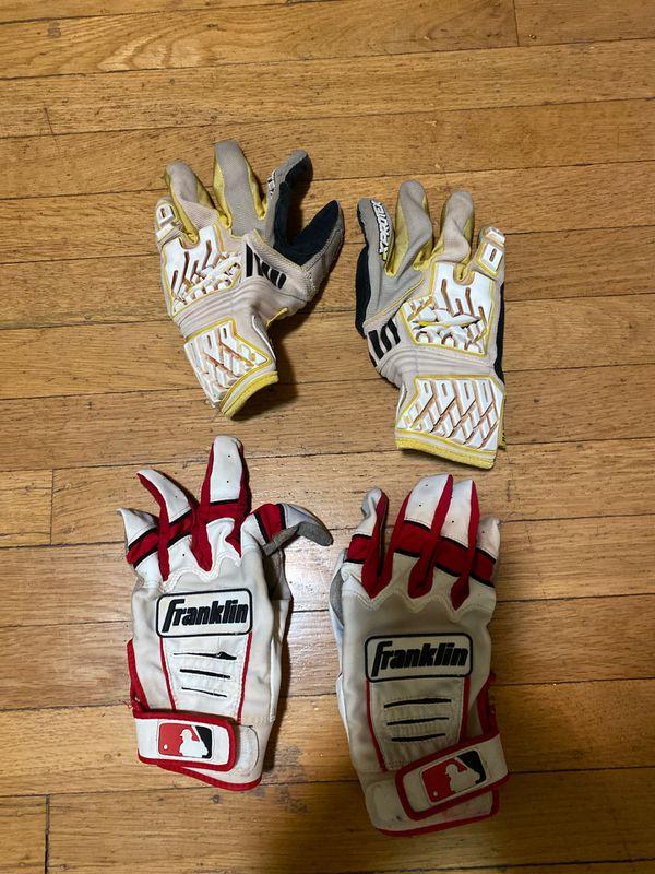 Men's baseball batting gloves size Medium