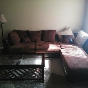 Couch and lounger 1 year old for Sale in Clarkston, GA