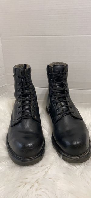 Red wings men work boots size 11 D for Sale in Dearborn, MI