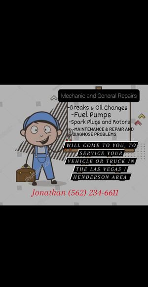 Mechanic Services for Cars and Trucks for Sale in Las Vegas, NV