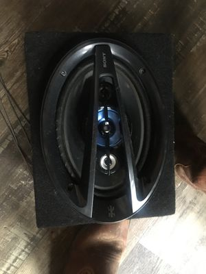 Sony 300 watt car speakers with enclosure for Sale in US
