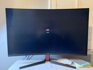 MSI curved monitor for Sale in Brentwood, CA