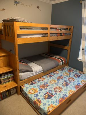Bunk beds with trundle for Sale in WILOUGHBY HLS, OH