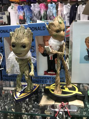 Groot Bobble Head Action Figures Marvel Brand for Sale in NJ, US