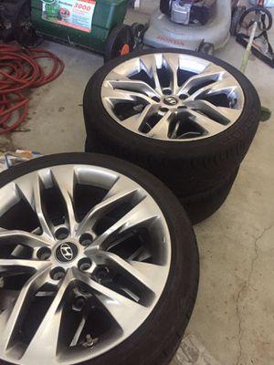 2014 19'' Hyundai Genesis Coupe Rspec Oem wheels for Sale in Murrieta, CA