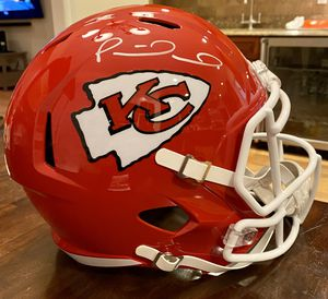Patrick Mahomes Autographed Full Size Helmet JSA certificate for Sale in Danbury, CT
