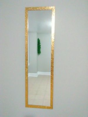 Flawless gold platted 3ft long mirror!!! for Sale for sale  Newark, NJ