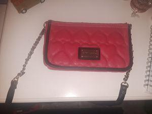 Betsey Johnson Pink Hearts Crossbody for Sale in Pasadena, TX