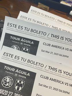 Juego De America V Monterrey Boletos for Sale in Dallas,  TX
