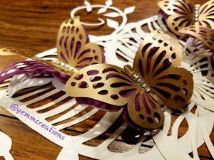 Hand made 3d butterflies for Sale in Glendora, CA