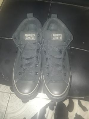 BRAND NEW Black Converse size 10.5 men's shoes for Sale in Los Angeles, CA