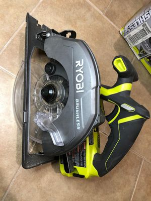 Ryobi 18v brushless circular saw (only tool) for Sale in Dallas, TX