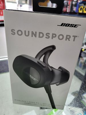 Bose SoundSport headphones 🎧 Bluetooth Wireless for Sale in Houston, TX
