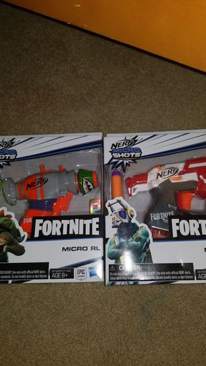 Fornite nerf guns for Sale in Tolleson, AZ