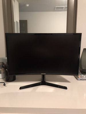 "LED monitor - curved - Full HD (1080p) - 24"" for Sale in St. Petersburg, FL"