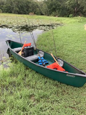 PENDING 14' Field and Stream Fishing Canoe for Sale in Lutz, FL