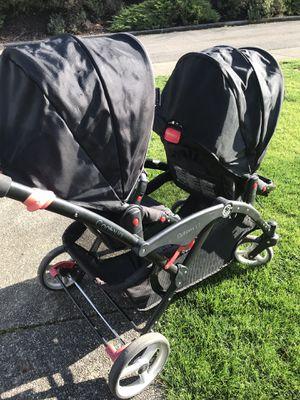 Options LT double stroller LIKE NEW $80 for Sale in Auburn, WA