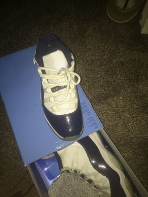 Jordan 11s Navy Blue/White for Sale in St. Louis, MO