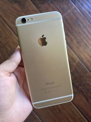 iPhone 6 gold (tags: Apple Phone tablet iPad electronic for Sale in Rancho Cucamonga, CA