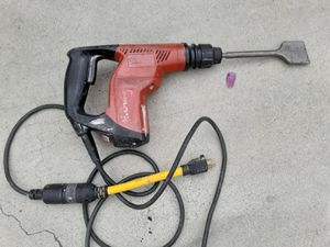 Hilti Jack hammer drill for sale only Jack hammer works for Sale in San Diego, CA