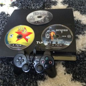 PS3 used once for Sale in Fairfax, VA