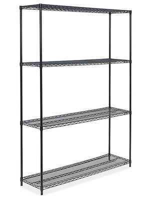 "Black Wire Shelving Unit - 60 x 18 x 86"" for Sale in Los Nietos, CA"