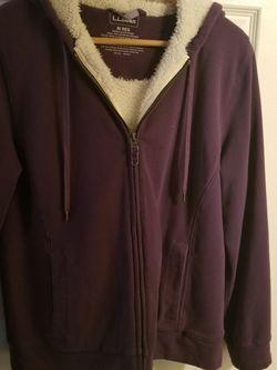 LL Bean Purple Womens Hoodie Size M for Sale in Nashville,  TN