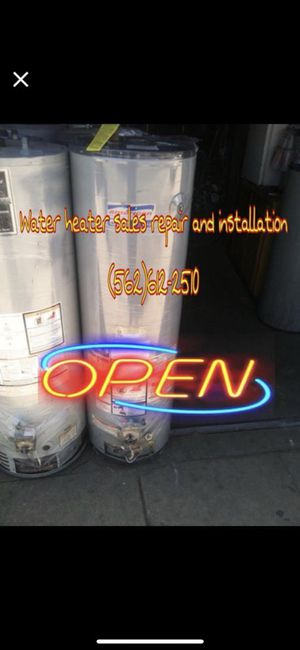 Water heaters and wall heaters sales new and used for Sale in Gardena, CA