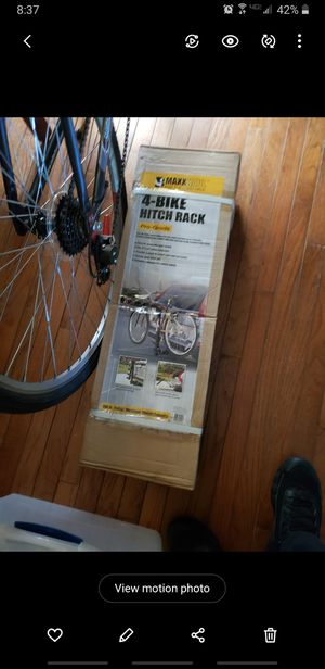4 bike hitch rack for Sale in NO POTOMAC, MD
