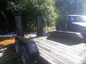 14ft x 6 ft car hauler with 8000lb winch for Sale in Lexington, SC