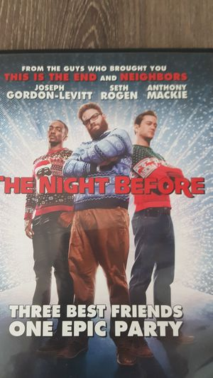 The Night Before (Comedy DVD) for Sale in Gaithersburg, MD