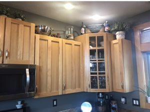 Quality Wood Kitchen Cabinets. Will take best offer. for Sale in Littleton, CO