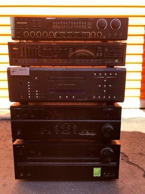 JVC Receiver, Faroudia Digital Cinema Source, Yamaha Sound AV Receiver, Onkyo AV Receiver for Sale in Garden Grove, CA