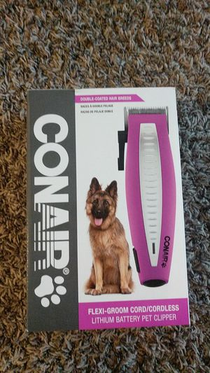 Conair pet clippers for Sale in Tacoma, WA