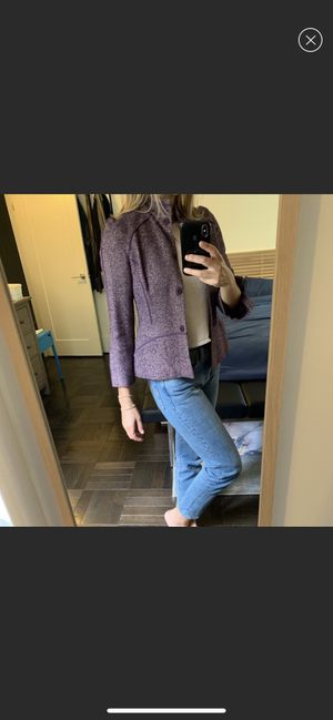 Vivienne Tam Wool Silk Blend Blazer in Wine color size 2 for Sale in New York, NY