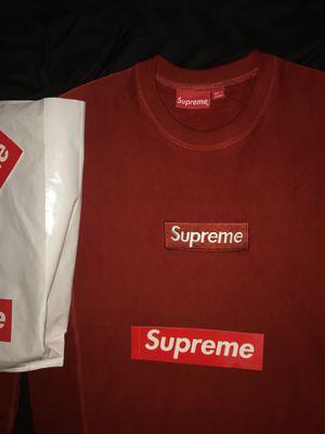 Supreme box logo crewneck for Sale in Fort Lauderdale, FL