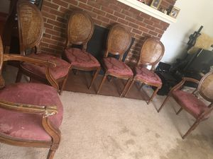 Antique collectible chairs set for Sale in Fairfax, VA