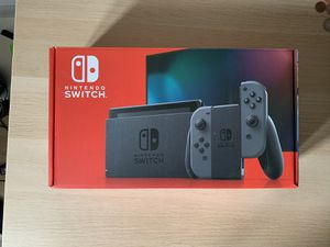 Nintendo Switch Console with Gray Joy-Con for Sale in Des Plaines, IL
