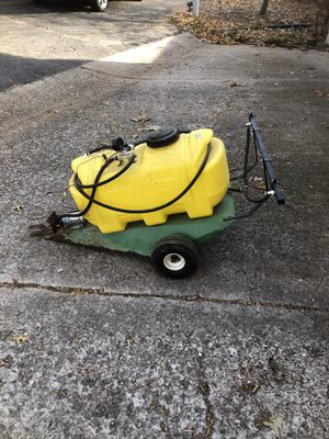 PK 25 gallon electric towable lawn sprayer. for Sale in Marshalltown, IA