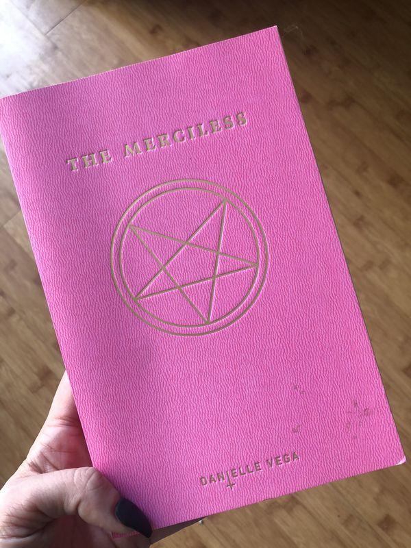 """""""Merciless"""" Book"""