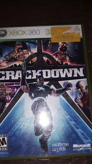 Xbox 360 Crackdown game for Sale in Dallas, TX