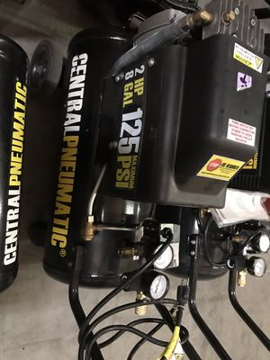 8 gallons to 10 gallons compressors for Sale in Las Vegas, NV