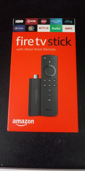 Amazon Firestick w/ Alexa for Sale in Corona, CA