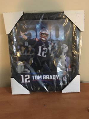 Framed Tom Brady picture for Sale in Mansfield, MA