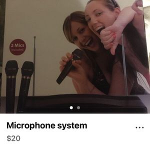 Microphone Set for Sale in Watsonville, CA