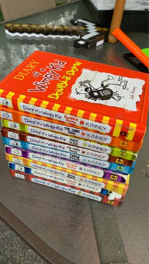 Diary Of A Wimpy Kid Book Set 1,2,4,5,6,7,8,9,11 for Sale in Sacramento, CA